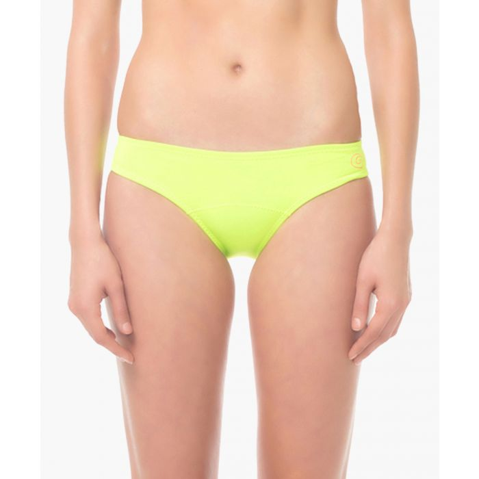 Image for Yellow active sport bikini bottoms