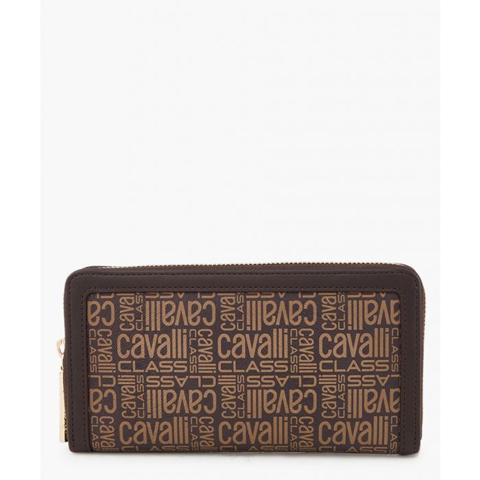 Image for Monogram brown leather wallet