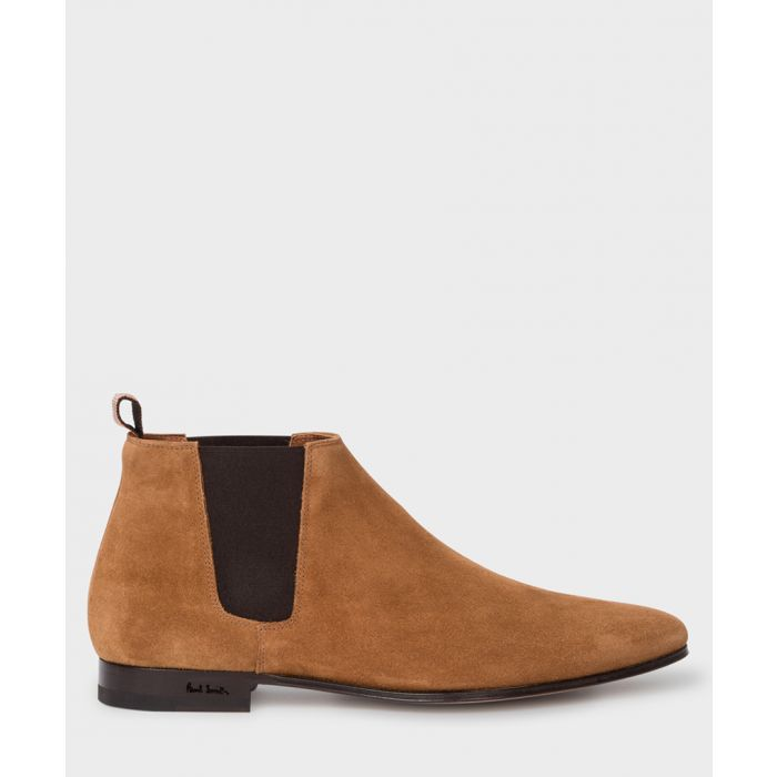 Image for Tan suede Chelsea boots