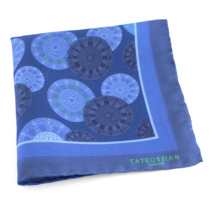 Image for Big Ben blue pocket square