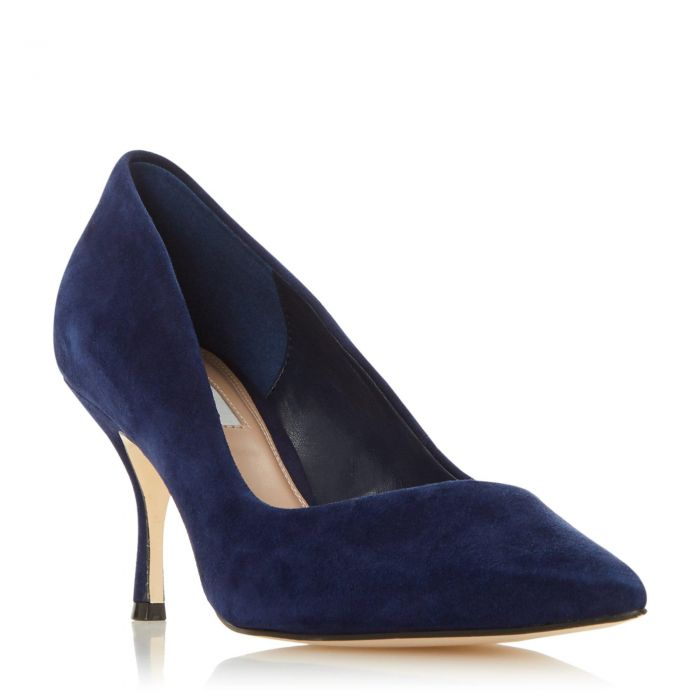 Image for Dune Ladies ANDRES Asymmetric Topline Court Shoe