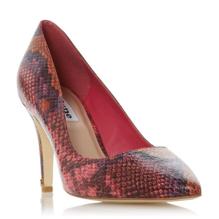 Image for Dune Ladies ANNA Signature Heel Trim Court Shoe