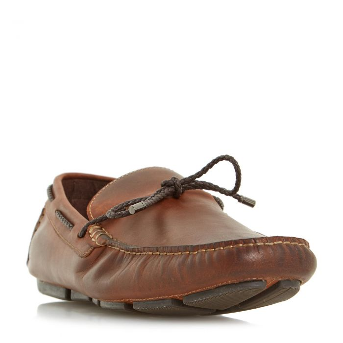 Image for Dune Mens BARNACLE Plait Lace Up Driver Loafer