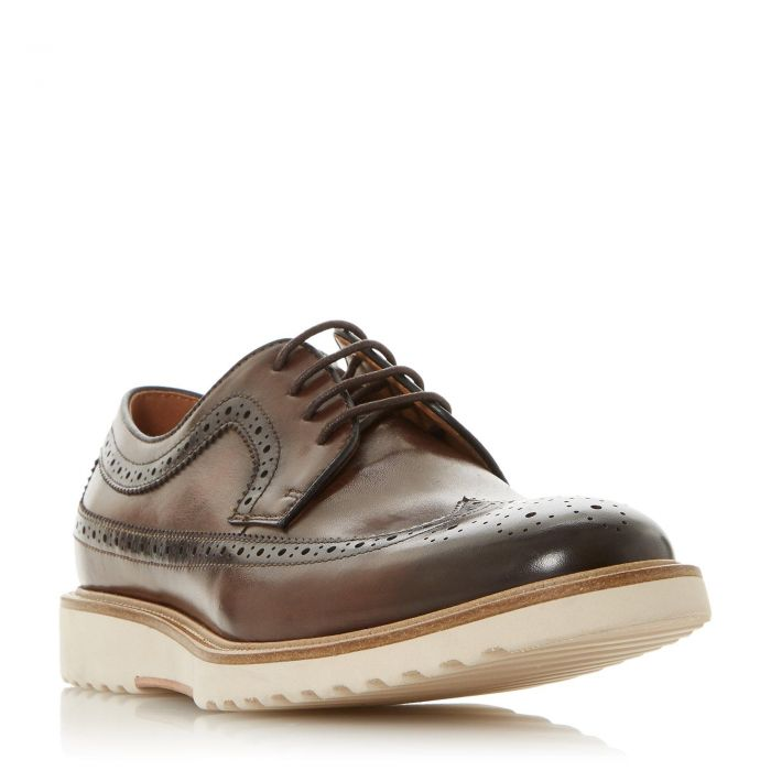 Image for Dune Mens BERANO Round Toe Brogue