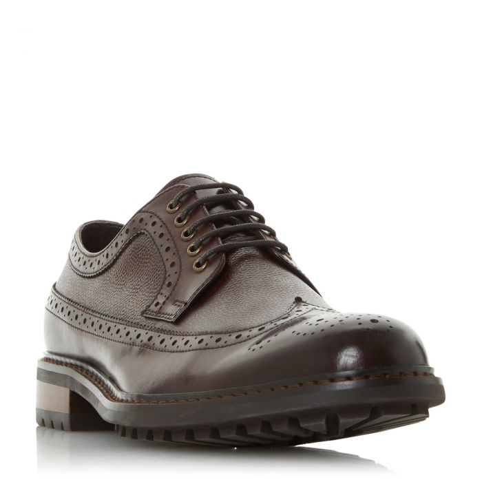 Image for Dune Mens BLACKOUTS Cleated Sole Brogue