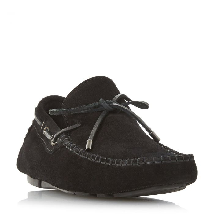 Image for Dune Mens BOYDE 1 Lace-Through Driver Loafer
