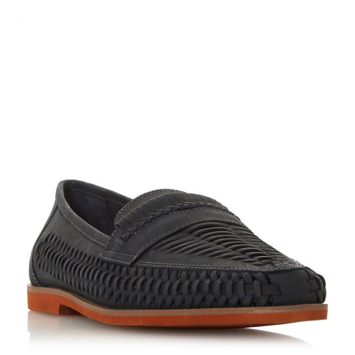 Image for Dune Mens BRIGHTON ROCK Woven Moccasin