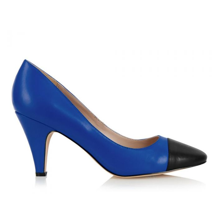 Image for Borough blue and black heels