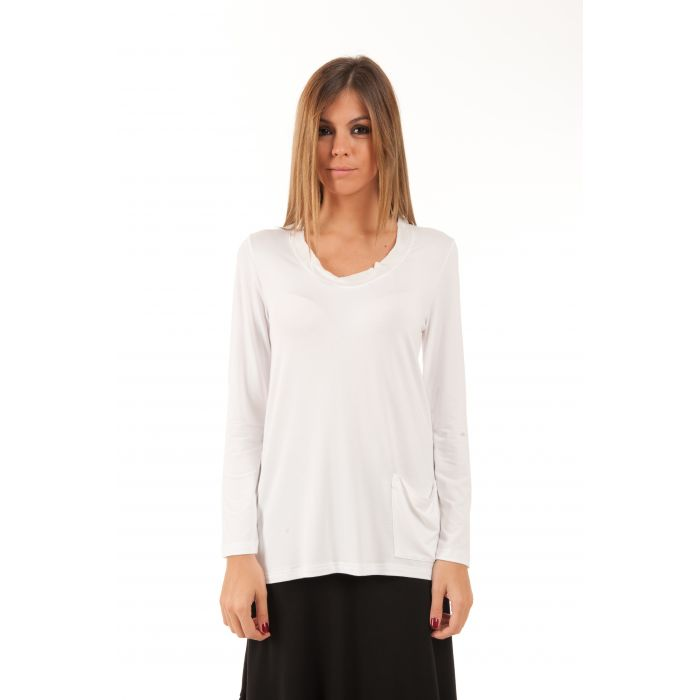 Image for Long Sleeve Pocket Detail Top