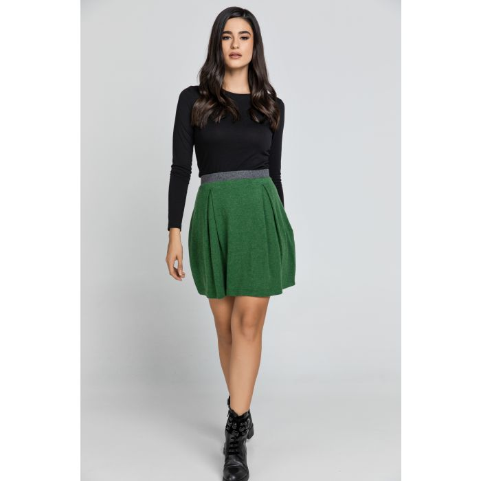 Image for Green Mini Skirt