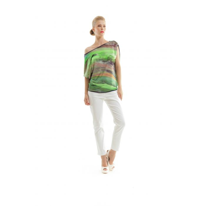 Image for Batwing Print Top
