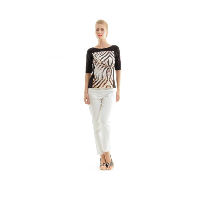 Image for Jersey Animal Print Top