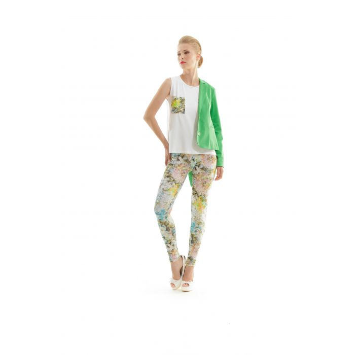 Image for Silky Floral Pants