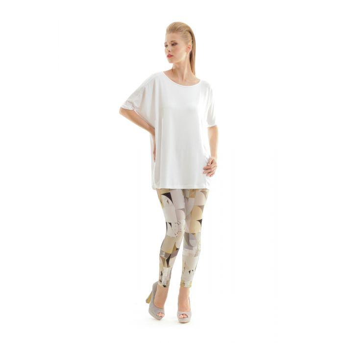 Image for Silky Geometric Print Pants