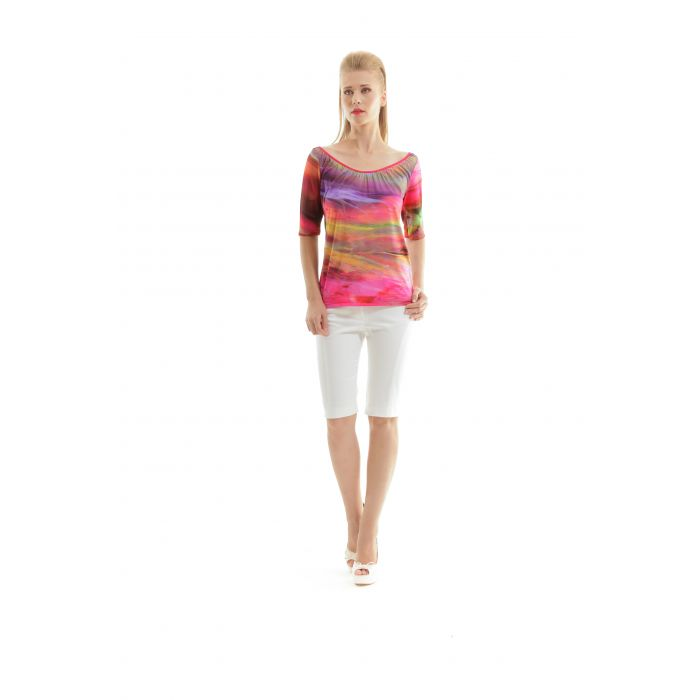 Image for Conquista Summer Printed top