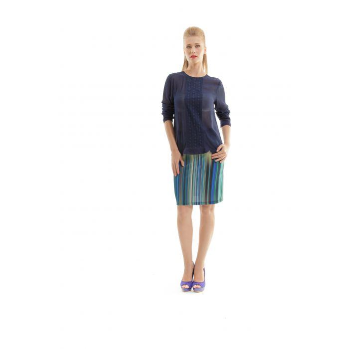 Image for Print A Line Skirt