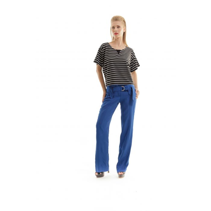 Image for Loose Fit Stripe Top