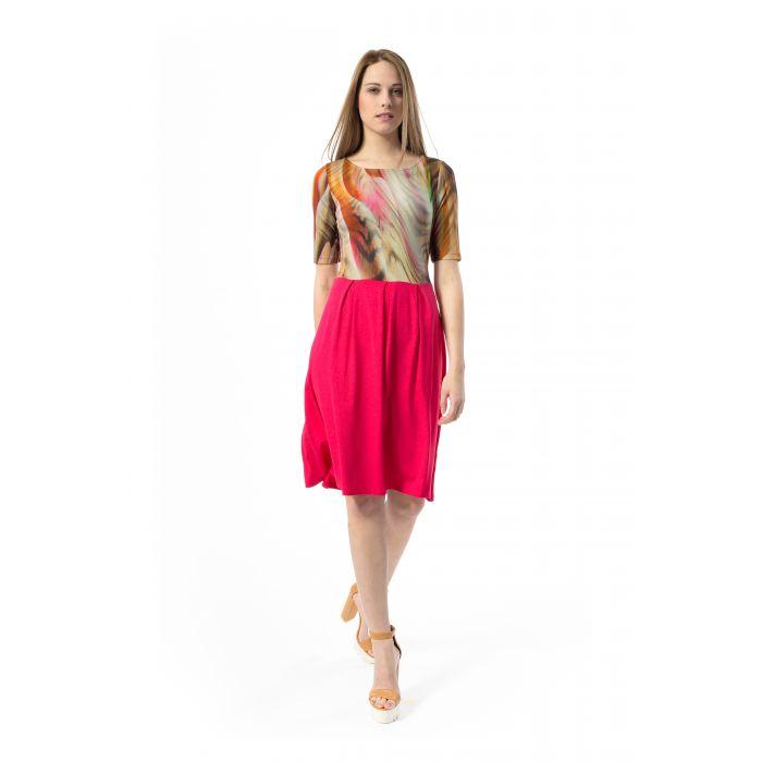 Image for Abstract Animal Print Dress