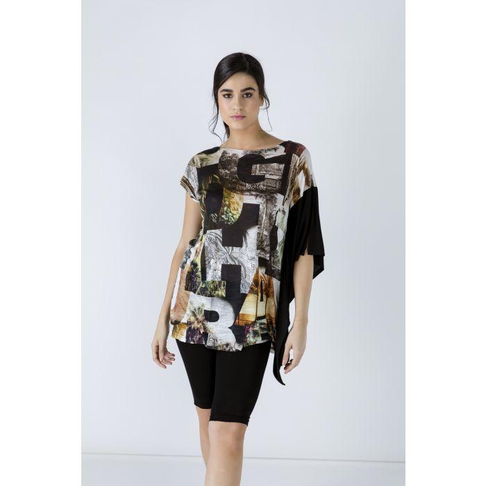 Image for Asymmetric Print Tunic
