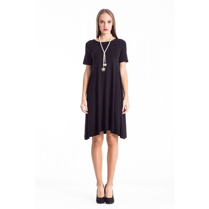 Image for Dress With Uneven Hemline