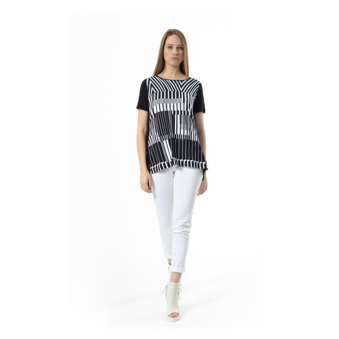 Image for A Line Print Top