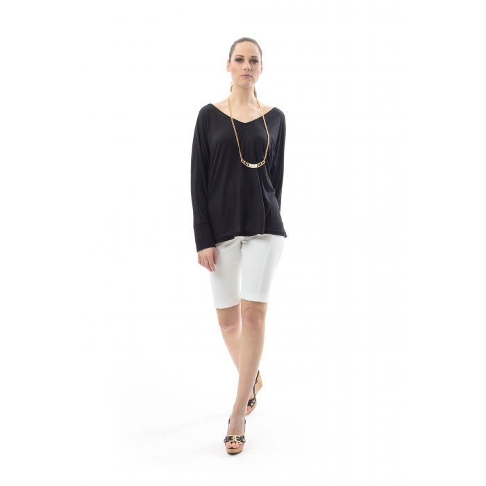 Image for Batwing Sheer Detail Top
