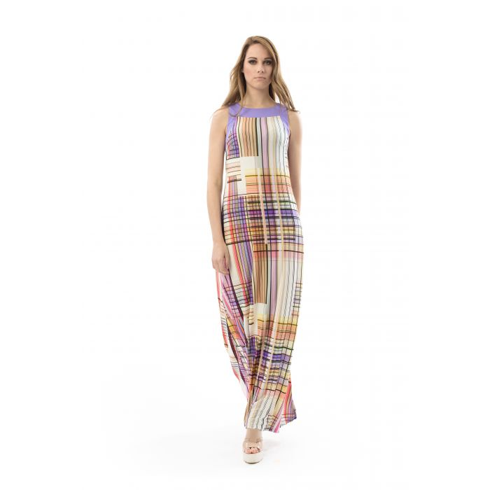 Image for Print A Line Maxi Dress