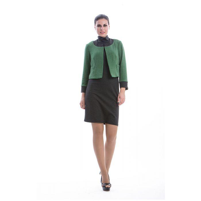 Image for Green Long Sleeve Bolero