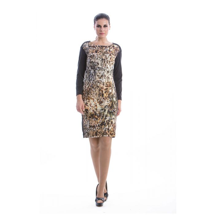 Image for Straight Print Dress