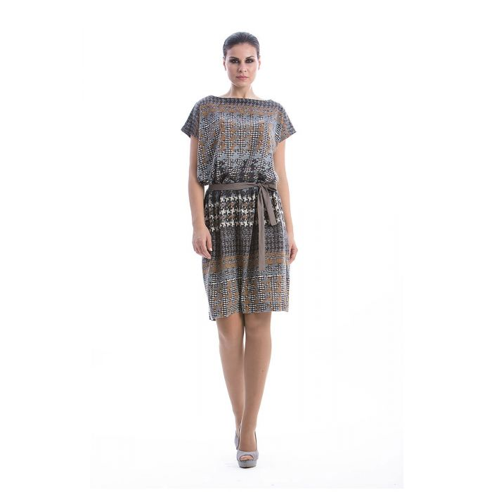 Image for Patterned Sack Dress
