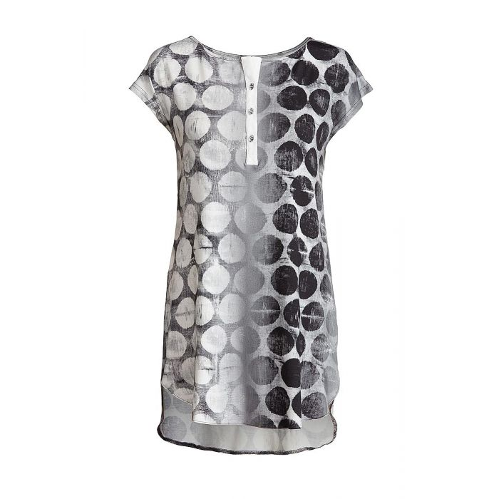 Image for Button Detail Long Length Top