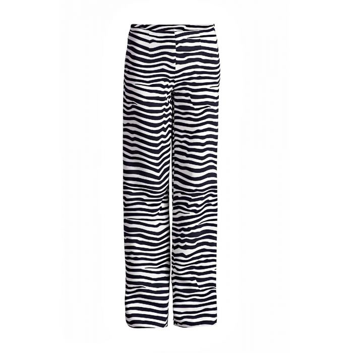 Image for Striped Wide Leg Trousers