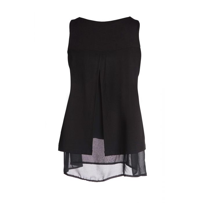 Image for Layered Sleeveless Top