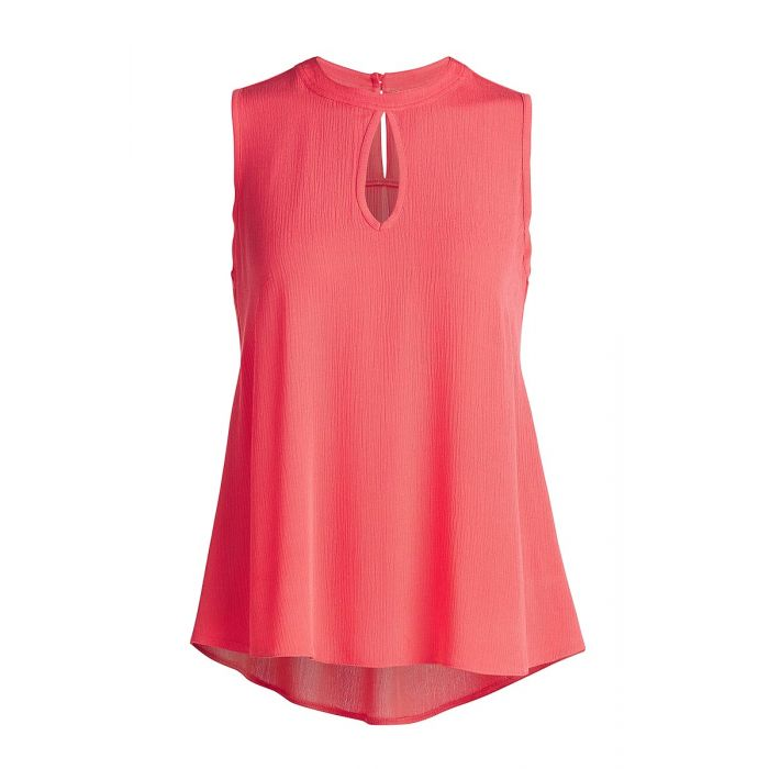 Image for Sleeveless Top with Rounded Hem