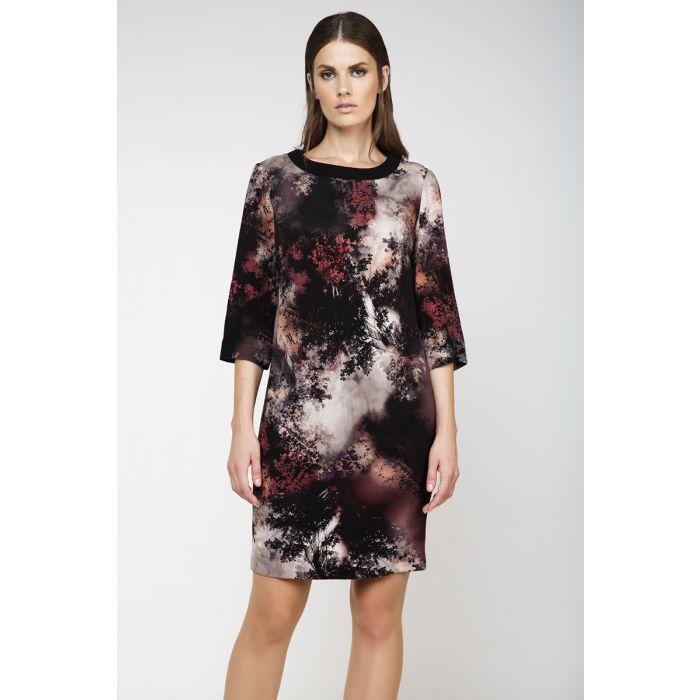Image for Print Sack Dress