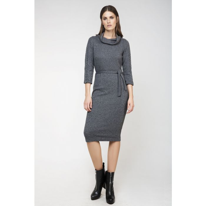 Image for Knit Fitted Dress
