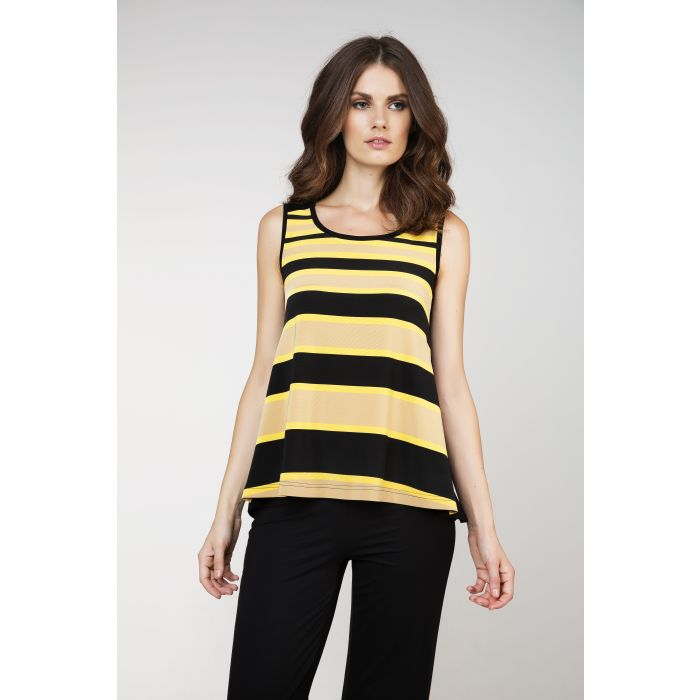 Image for Striped Sleeveless Top