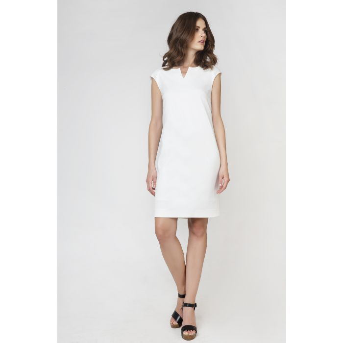 Image for Straight Sleeveless Dress