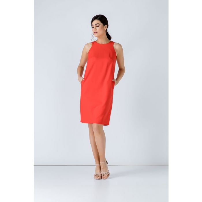 Image for Sleeveless Sack Dress