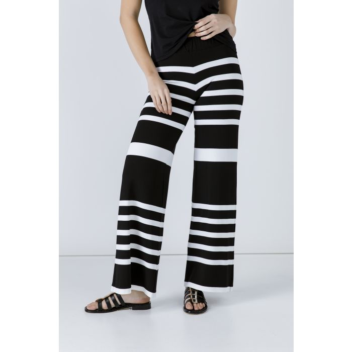Image for Striped Wide Leg Pants