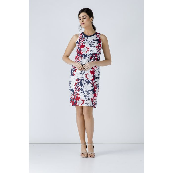 Image for Floral Sleeveless Dress
