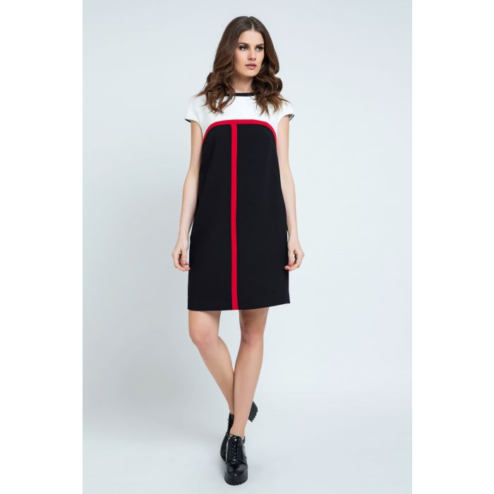 Image for Stripe Detail Sack Dress