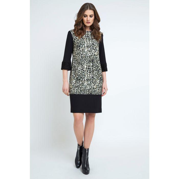 Image for Straight Animal Print Dress