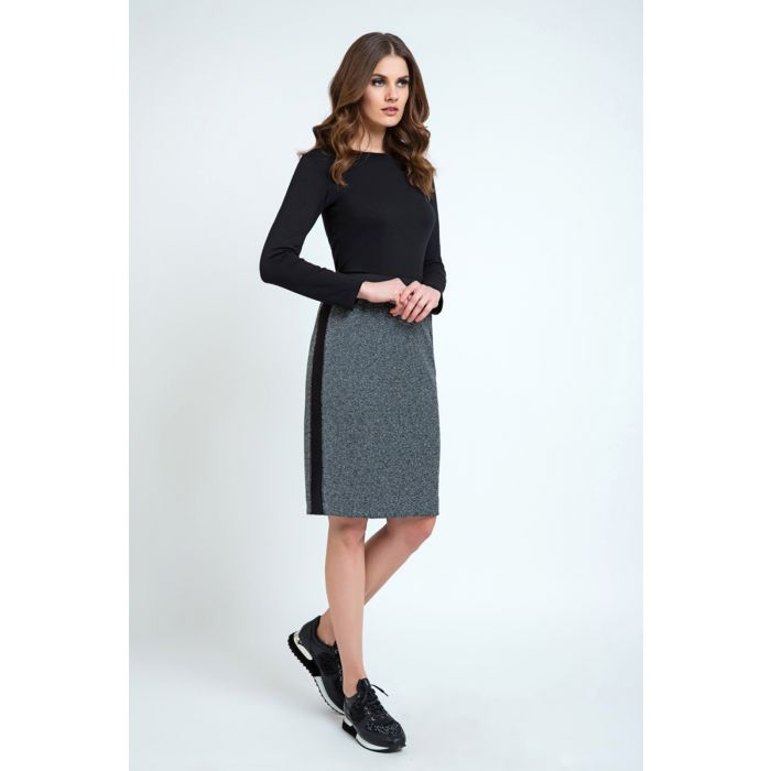 Image for Pencil Skirt with Side Panels