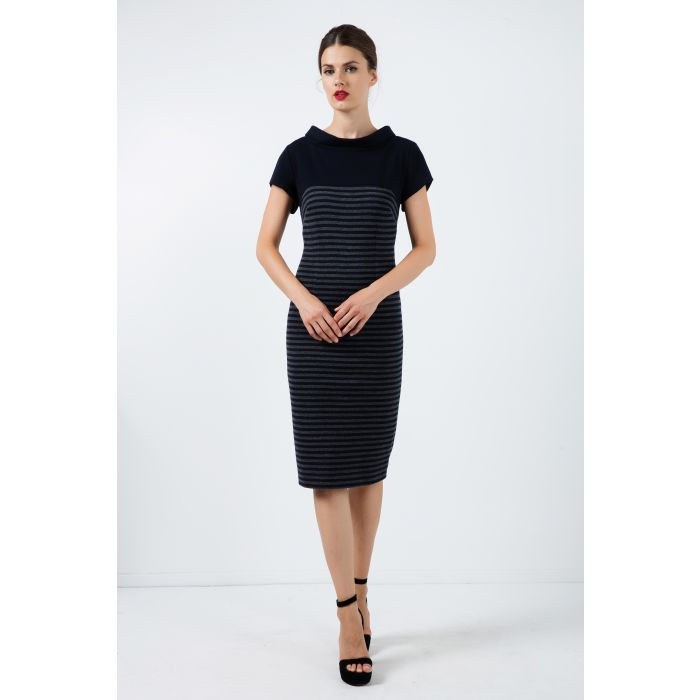 Image for Fitted Midi Dress