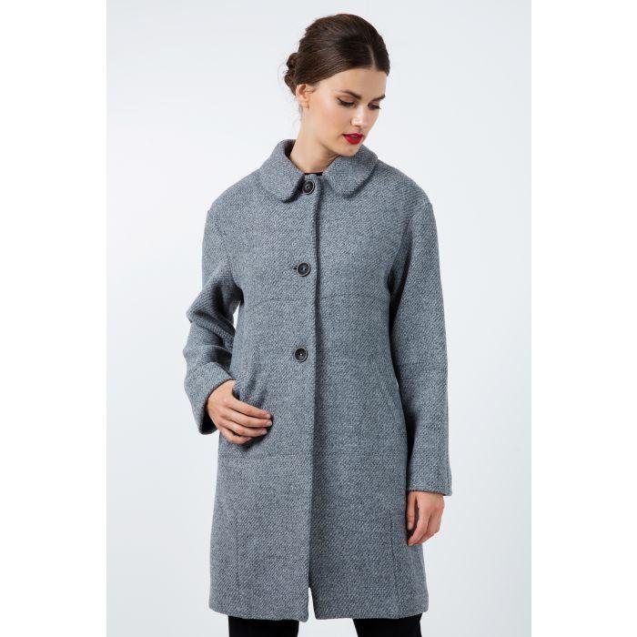 Image for Oversized Drop Shoulder Grey Coat