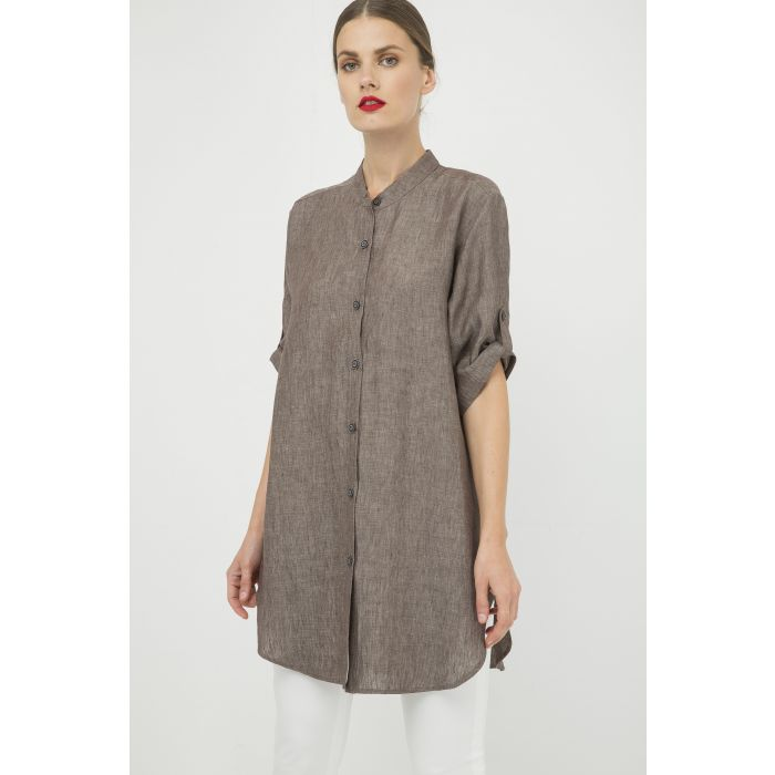 Image for Long Linen Shirt