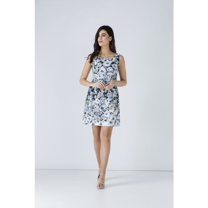 Image for Floral Empire Line Dress