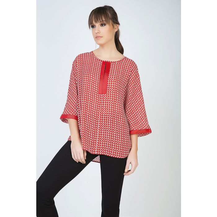 Image for Loose Fit Print Top