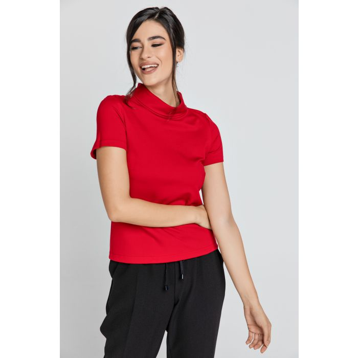 Image for Short Sleeve Red Top